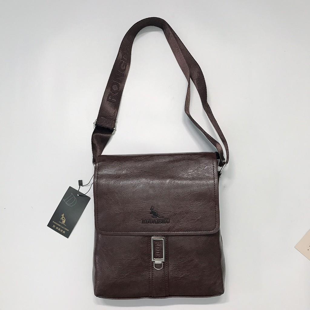 Túi đeo nam 802 - Siêu mềm, siêu nhẹ