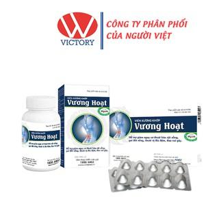 Viên xương khớp Vương Hoạt - Giảm thoái hóa cột sống, thoát vị địa đệm - Victory Pharmacy thumbnail