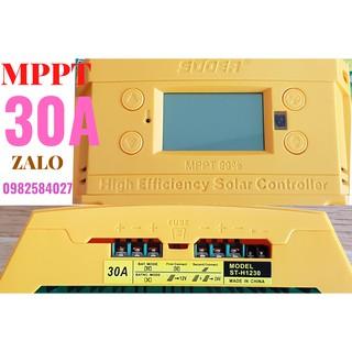 Bộ điều khiển sạc năng lượng mặt trời SUOER MPPT – 30A ST-H1230