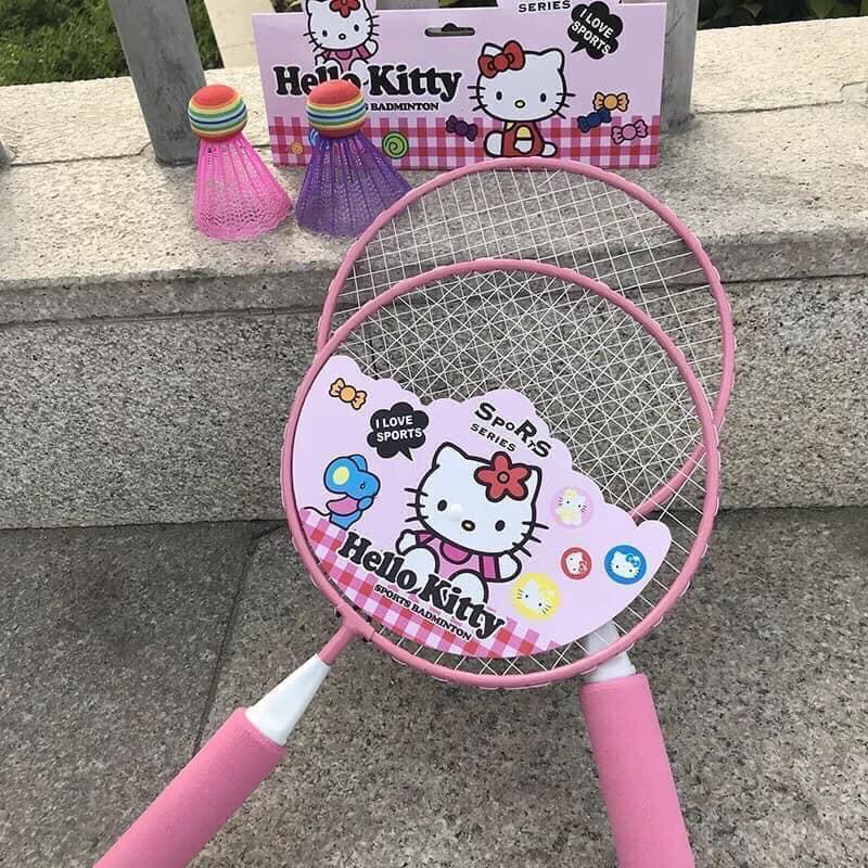 [Nhập mã TOYJUNE giảm 10K] Bộ vợt cầu lông cho bé (Bộ 2 Vợt + 2 Cầu)