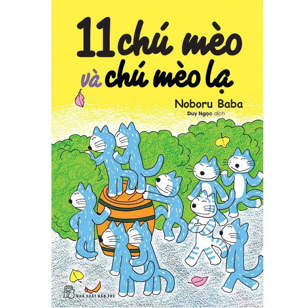 Sách: 11 chú mèo và chú mèo lạ