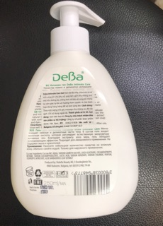 [ Kèm Quà Tặng ] Gel vệ sinh phụ nữ Deba Intimate care Gel - Gel Lô Hội 250 ml Bulgaria 3