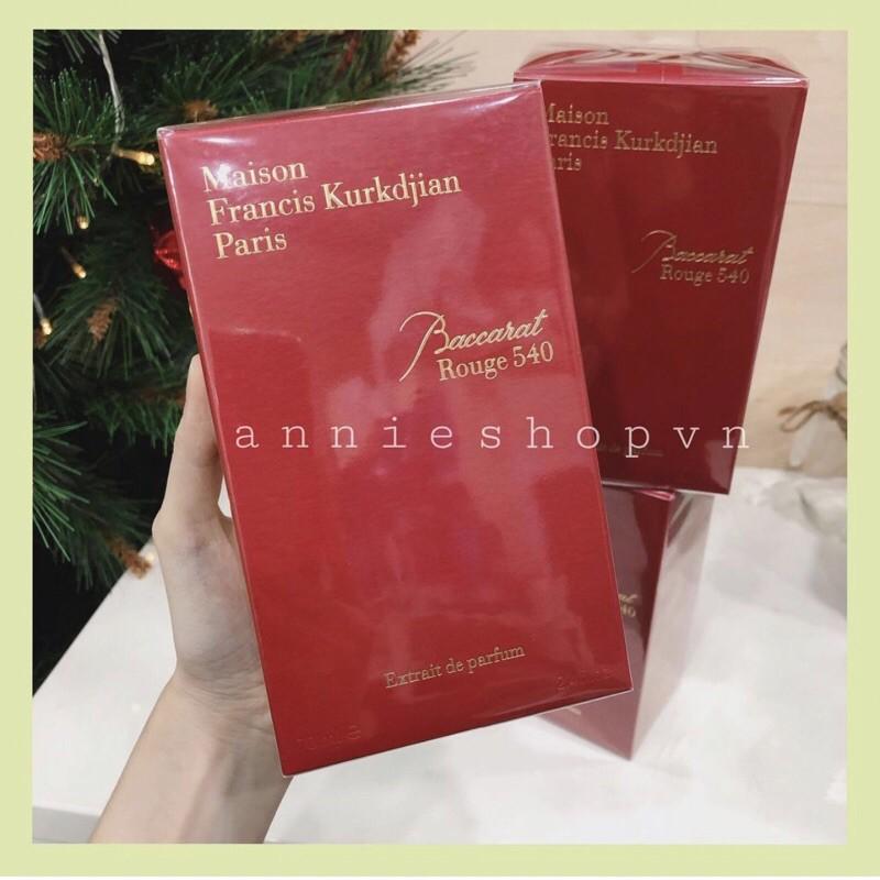 Nước hoa Baccarat Rouge 540 Extrait De Perfume 70ml
