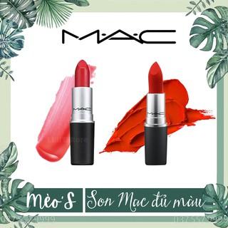 [ Xả kho thanh lí giá Gốc] Son Mac Powder Kiss Lipstick, Matte, Rettro Matte, Satin, Bộ sưu tập son Mac siêu SALE thumbnail