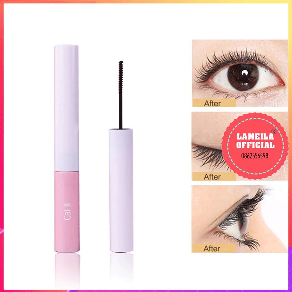 Mascara siêu mảnh chuốt mi dài mịn hàng nội địa Trung vỏ hồng Lameila