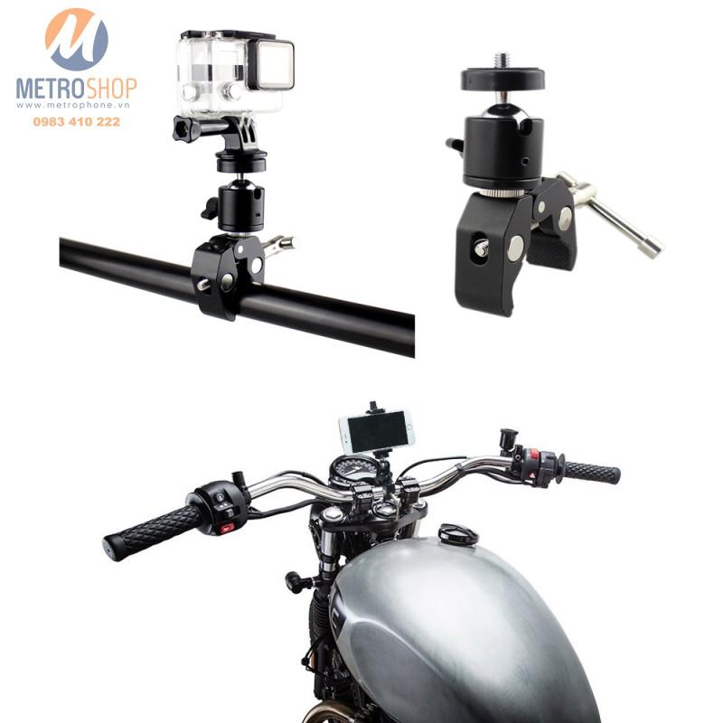 Kẹp gắn điện thoại và Action Cam máy ảnh trên xe - 3613721 , 983883548 , 322_983883548 , 150000 , Kep-gan-dien-thoai-va-Action-Cam-may-anh-tren-xe-322_983883548 , shopee.vn , Kẹp gắn điện thoại và Action Cam máy ảnh trên xe