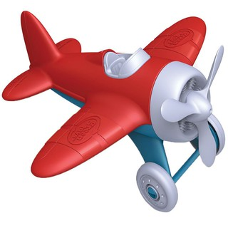 Máy bay đỏ- hãng Green toys 100% made in USA- không chứa BPA