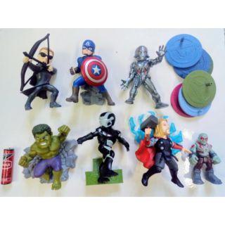 Set mô hình chibi Marvel Avenger