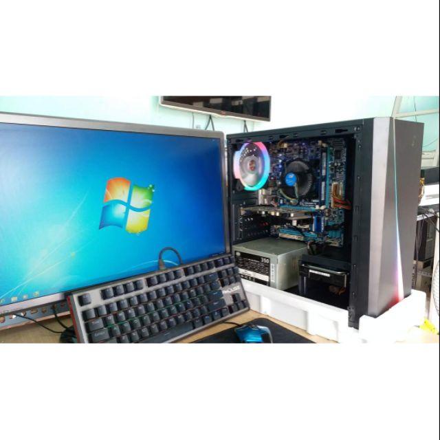 Trọn bộ thùng gaming i5 – VGA 2G + màng hình Giá chỉ 4.900.000₫
