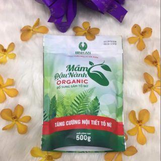 Mầm Đậu Nành Organic Linh Spa – Bổ Sung Sâm Tố Nữ