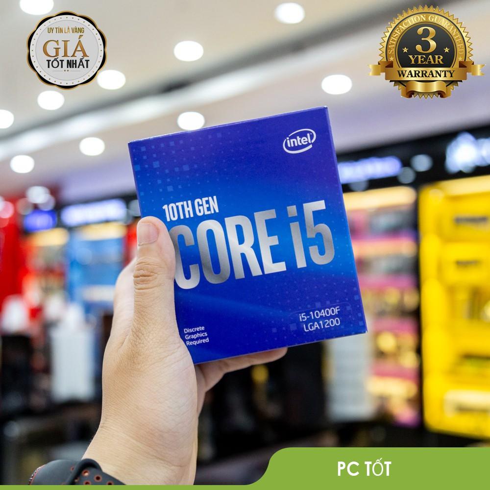 CPU Intel Core i5 10400F  – Socket Intel LGA 1200