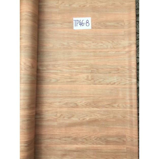 Thảm nhựa trải sàn Vân gỗ loại mỏng 0,5mm 25k/ m vuông