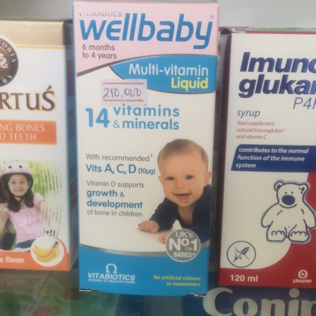 Well baby multi vitamin 150ml