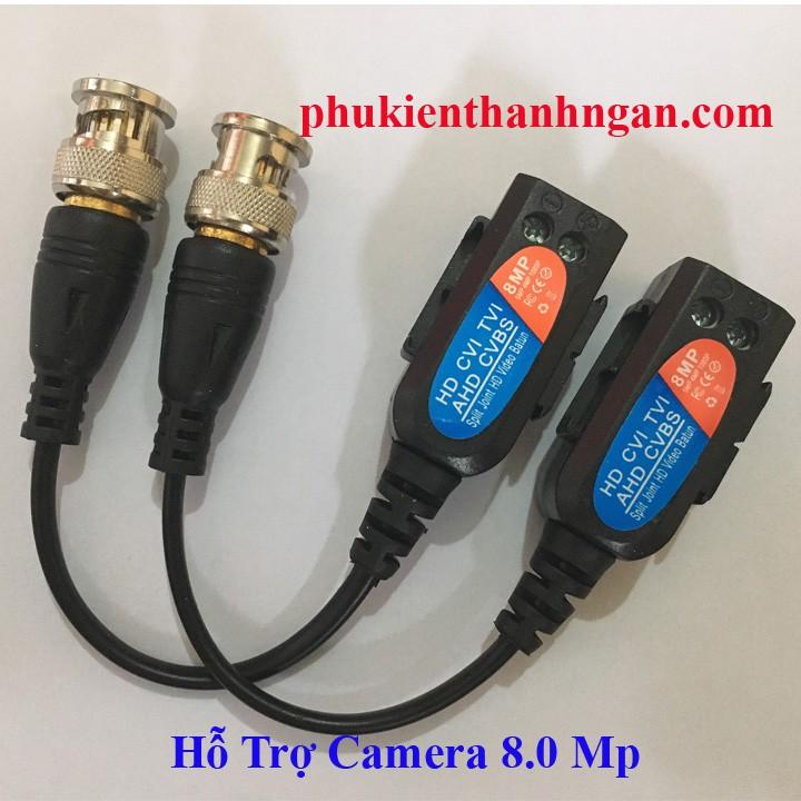 Balun 8.0MP cao cấp Vặn Vít BDV-07 - video balun 8.0mp chất lượng cao - balun camera bdv-07
