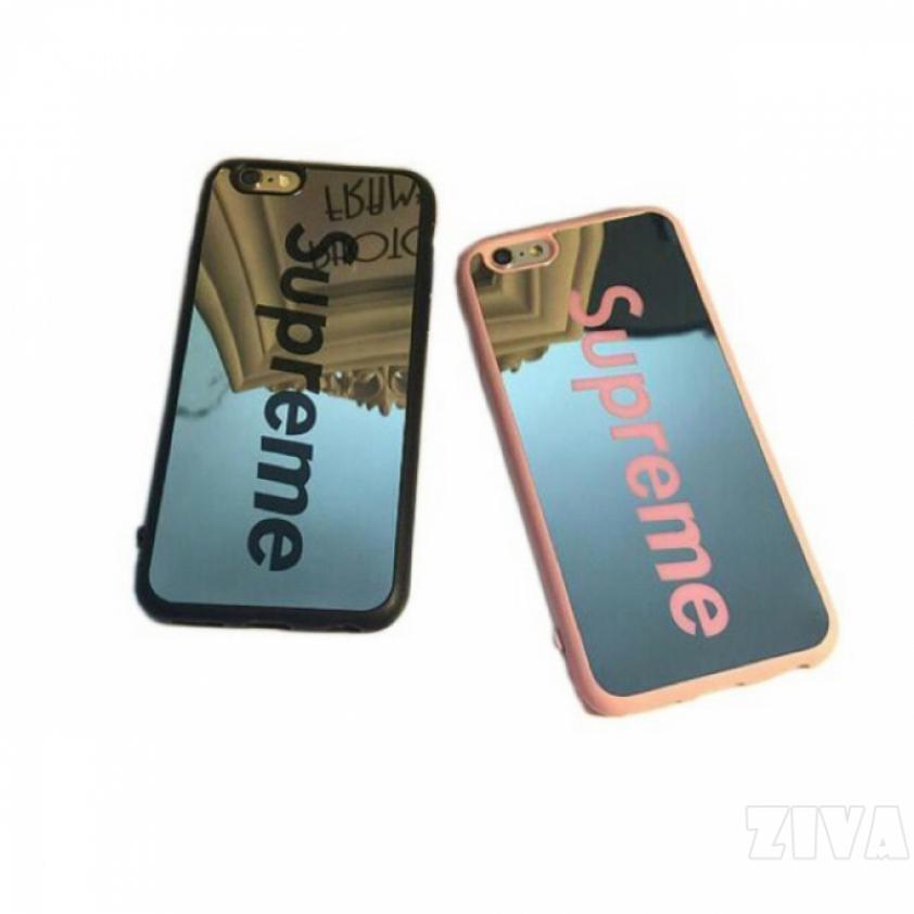 Ziva Supreme Mirror Soft Cover Casing for iPhone Xs Max Xr 8 Plus 7Plus 6sPlus 5s se