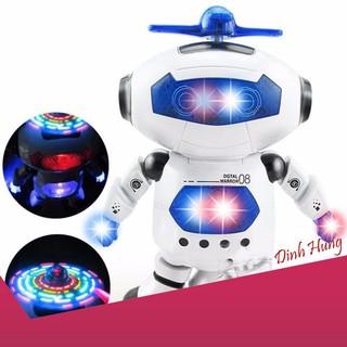 [SIÊU PHẨM] Đồ chơi Robot thông minh nhảy múa hát xoay 360 độ(Nhiều màu) siêu bền
