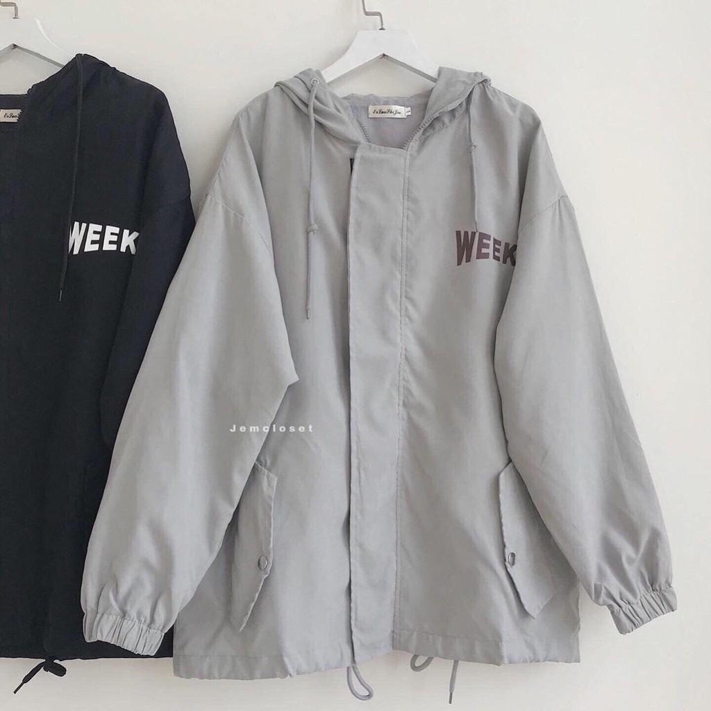 [Mã WASEPRN hoàn 20% xu đơn 99k] áo khoác dù nữ 2 lớp form rộng 0020
