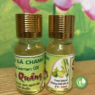 Tinh dầu sả chanh Phước Quảng tự chọn thơm nguyên chất 10ml - ND401 thumbnail