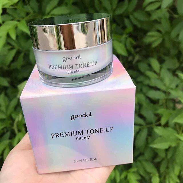 Kem Ốc Sên Dưỡng Trắng Da Goodal Premium Snail Tone Up 30 ml và 50