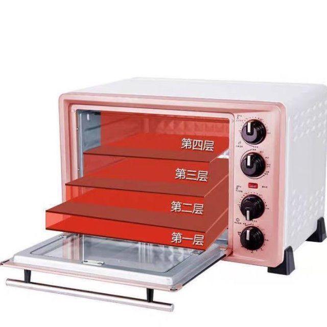 Lò nướng bánh mì nhỏ raccoon gia đình đa chức năng mini tự động 36L lít làm hai lớp <