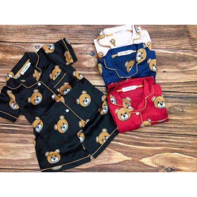 Combo 2 bộ pijama gấu cho bé trai bé gái - 3613691 , 1003465229 , 322_1003465229 , 240000 , Combo-2-bo-pijama-gau-cho-be-trai-be-gai-322_1003465229 , shopee.vn , Combo 2 bộ pijama gấu cho bé trai bé gái
