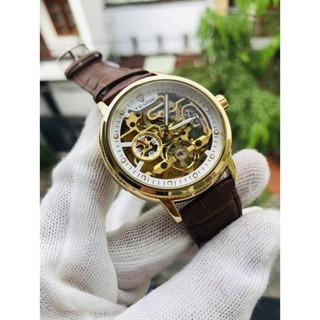 (Siêu Sale) Đồng hồ nam tevise chính hãng automatic dây da [ Đồng Hồ Nam Cao Cấp]