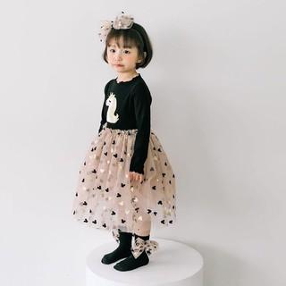 Đầm kỳ lân công chúa cho bé gái - kèm ảnh thật