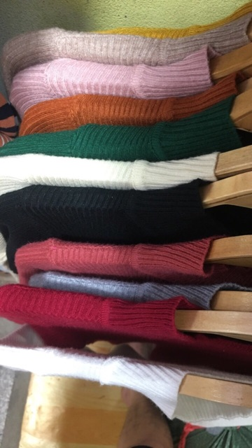 Áo len tăm cổ cao   BigBuy360
