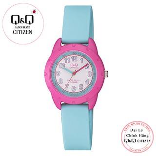 Đồng hồ trẻ em Q&Q Citizen VR97J004Y dây nhựa thương hiệu Nhật Bản thumbnail