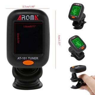 Hot Clip-on Guitar Tuner For Electronic Digital Chromatic Basses Violin Ukulele LCD