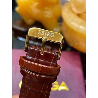 Đồng hồ Nam Seiko cổ điển sang trong, thẻ bào hành 12 tháng (Seiko) Tặng Hộp Da Cao Cấp + Vòng Tì Hưu