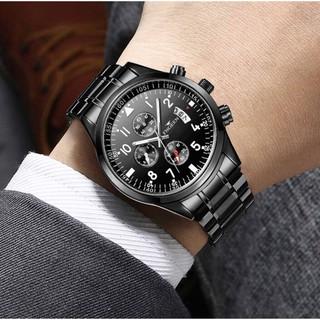 Đồng hồ nam FNGEEN FN1 dây thép mạnh mẽ lịch lãm