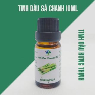 Tinh dầu sả chanh nguyên chất 10ml Ấn Độ – Tinh dầu thiên nhiên xông phòng khử mùi hôi đuổi muỗi