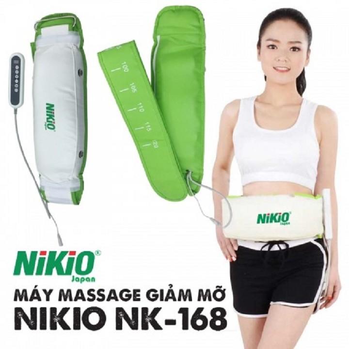 Kết quả hình ảnh cho Đai massage giảm mỡ bụng Nhật Bản Nikio NK-168