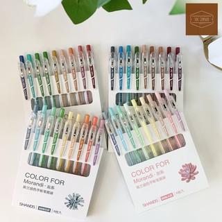 (Video) Bộ bút màu 9 cây COLOR FOR của Morandi 0.5mm
