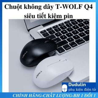 [GIẢM MẠNH] Chuột không dây SIÊU TIẾT KIỆM PIN T-WOLF Q4