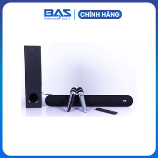 [ Chính Hãng ] Loa soundbar KIWI HK01, tặng kèm 2 micro ko dây hát karaoke thumbnail
