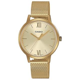 Đồng hồ CASIO nữ chính hãng dây kim loại mạ vàng mới thumbnail