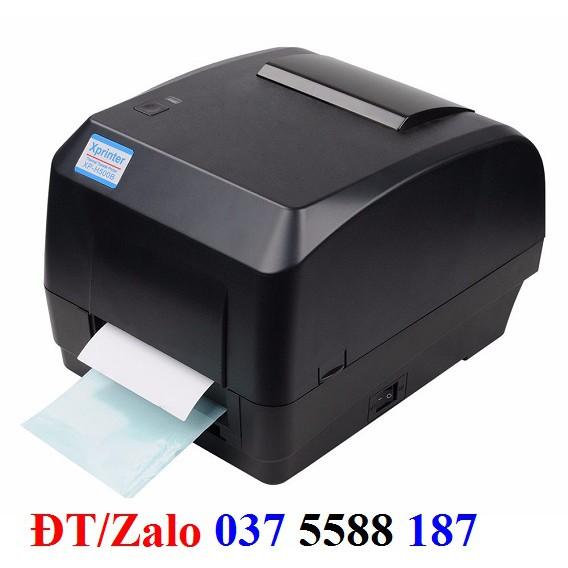 Máy ịn tem mã vạch Xprinter XP500E Giá chỉ 3.350.000₫