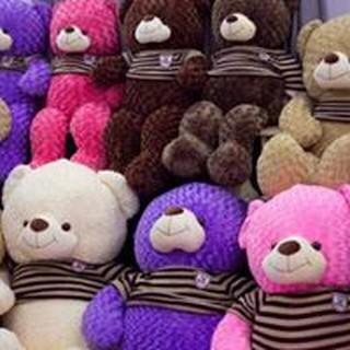 Gấu Teddy cao cấp khổ vải 1m, size 80cm