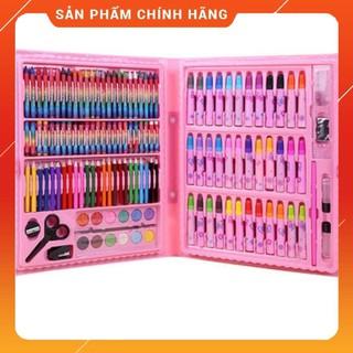 Bộ màu trẻ em tiểu học 150 bút màu nước bút sáp – Bộ công cụ vẽ tranh mẫu giáo kèm hộp Mới 2020