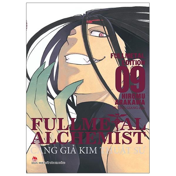 Sách Fullmetal Alchemist - Cang Giả Kim Thuật Sư - Fullmetal Edition Tập 9 - Tặng Kèm Bookmark PVC