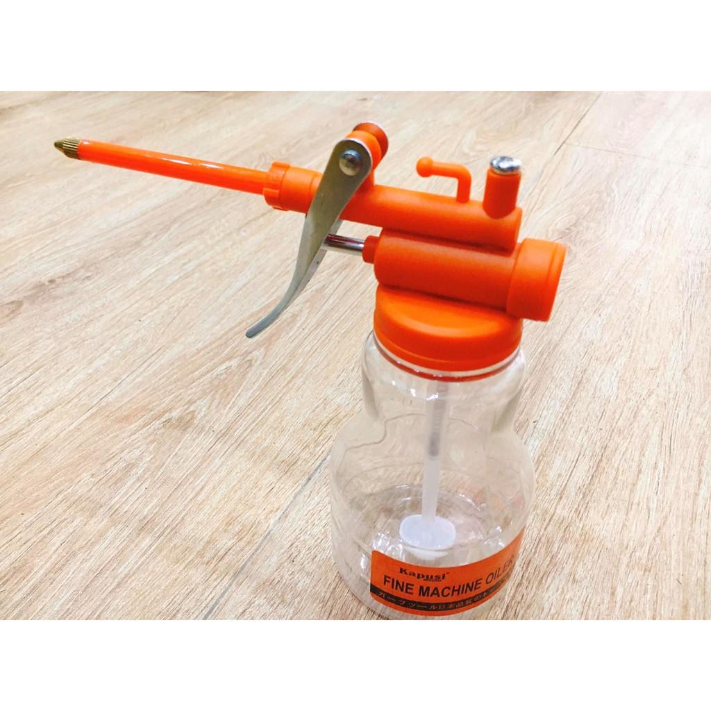 Dụng cụ tra dầu mỡ 250ml- nhựa