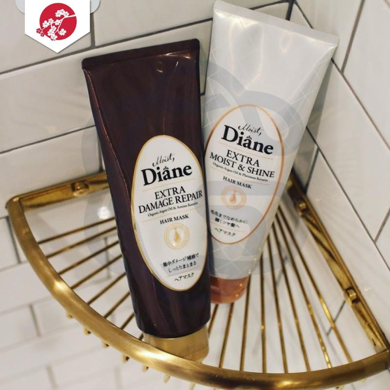Mặt nạ tóc dành cho tóc nhuộm, xỉn màu Moist Diane Extra Shine 150g