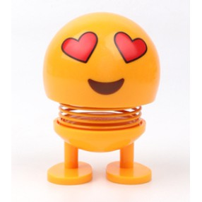 Emoji mặt cười, icon lò xo nhún nhảy vui nhộn