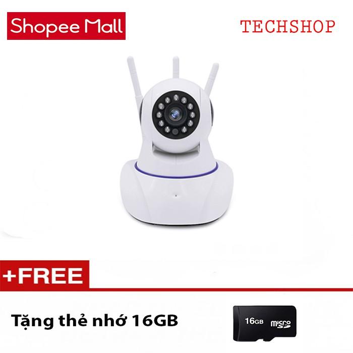 Camera siêu wifi 3 Anten xoay 360 Yoosee Pro 8800HD TẶNG THẺ NHỚ 16GB - 10066285 , 1022137428 , 322_1022137428 , 750000 , Camera-sieu-wifi-3-Anten-xoay-360-Yoosee-Pro-8800HD-TANG-THE-NHO-16GB-322_1022137428 , shopee.vn , Camera siêu wifi 3 Anten xoay 360 Yoosee Pro 8800HD TẶNG THẺ NHỚ 16GB