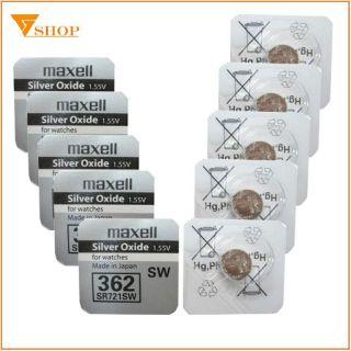 Pin Đồng Hồ Maxell 362 SR721SW 721 1.5V JaPan Chính Hãng