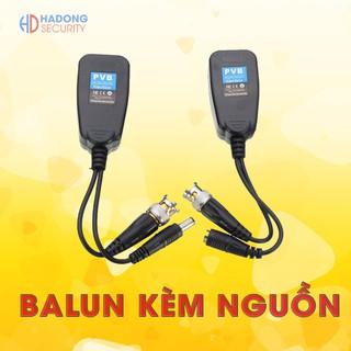 Video Balun kèm nguồn loại tốt có đèn báo loại tốt cho camera