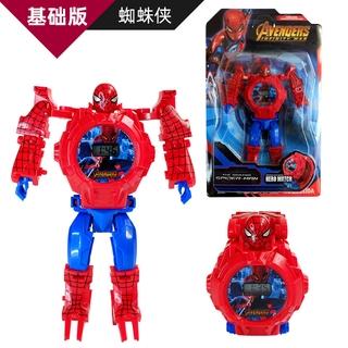 Đồ chơi đồng hồ điện tử đeo tay phong cách siêu anh hùng