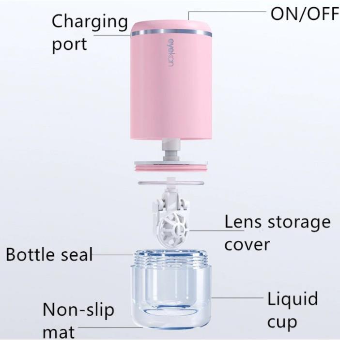 Máy rửa kính áp tròng công nghệ siêu âm EYEKAN Nhật Bản - ASTA STORE
